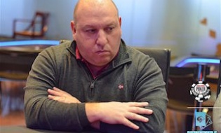 Guido Presti al day2 del Wsop Circuit main event Rozvadov
